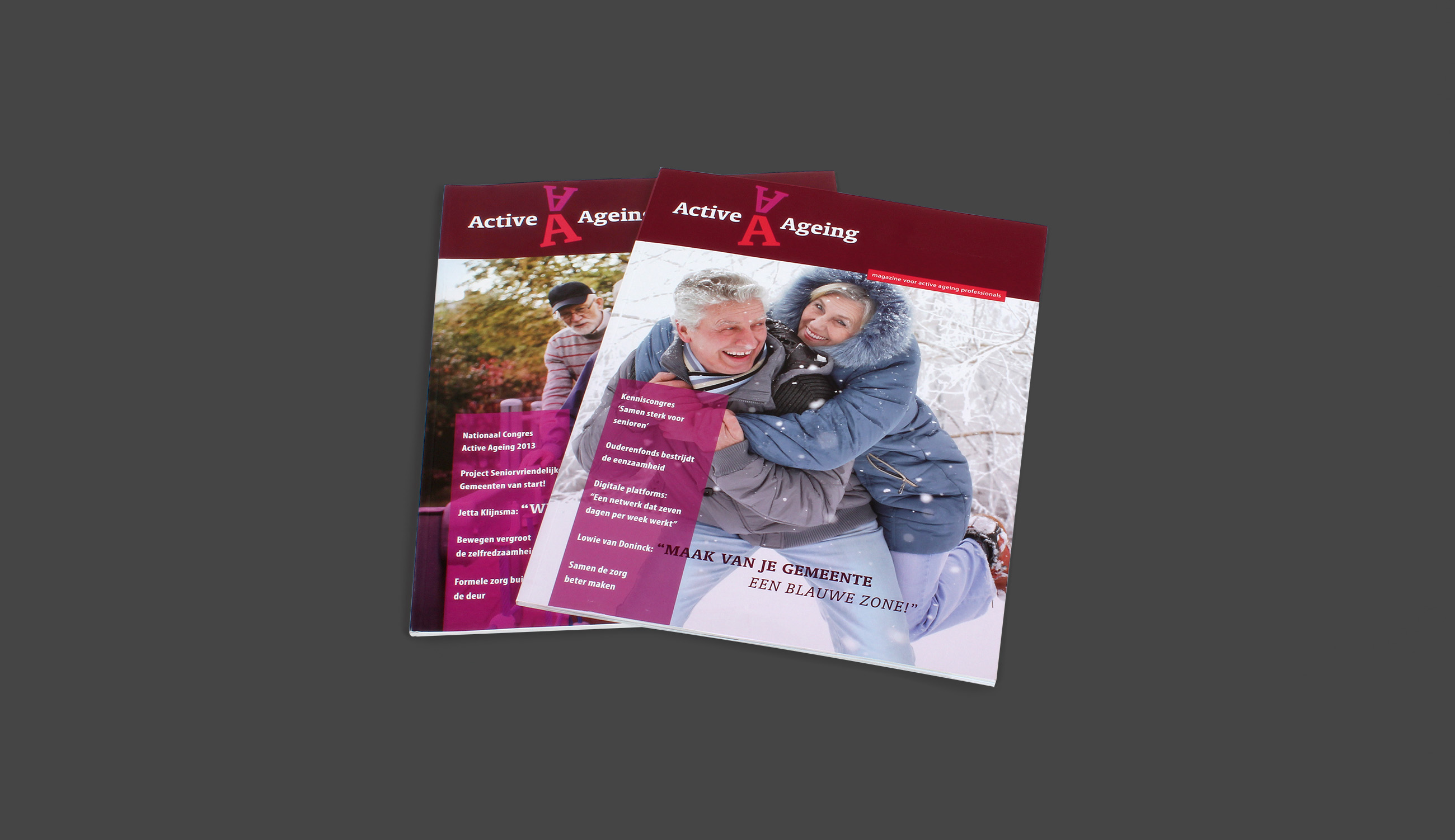 Active ageing, magazine, congress