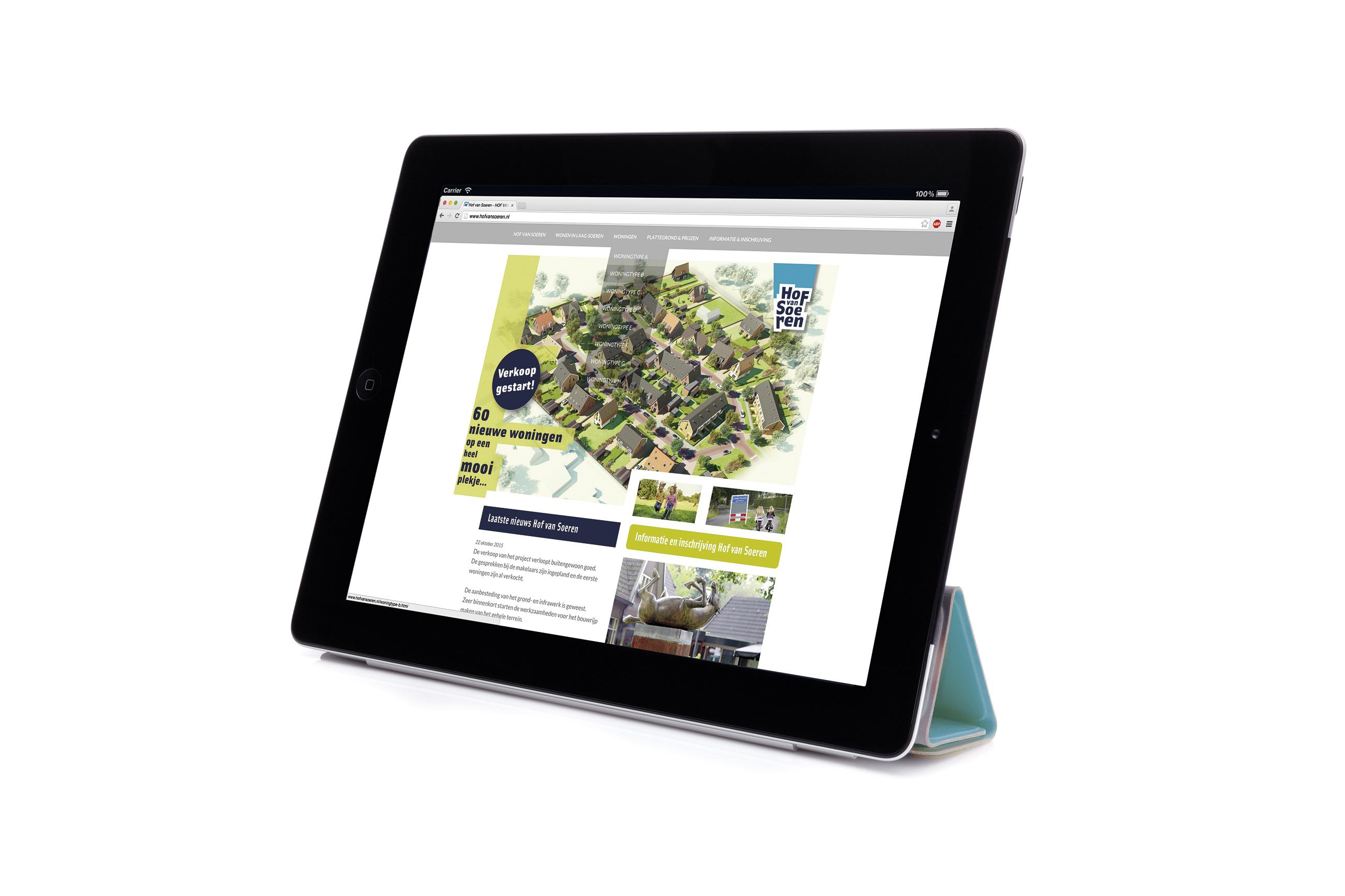 Hof van Soeren, website, Reinbouw, Laag-Soeren, nieuwbouw. Ontwerp en sitebouw Neo & Co