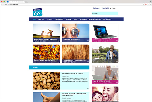Website Welkom Life