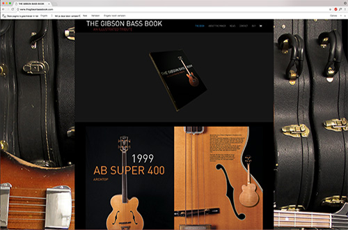Websitebouwers The Gibson Bass Book