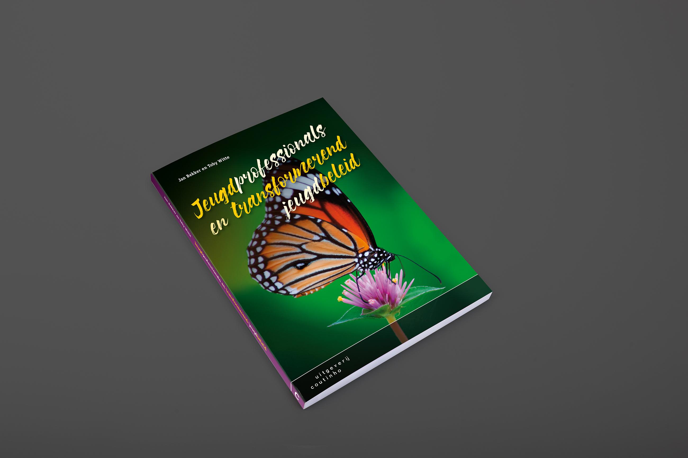 Coutinho, boekomslagen, jeugdprofessionals en transformerend jeugdbeleid, grafisch ontwerp Neo & Co