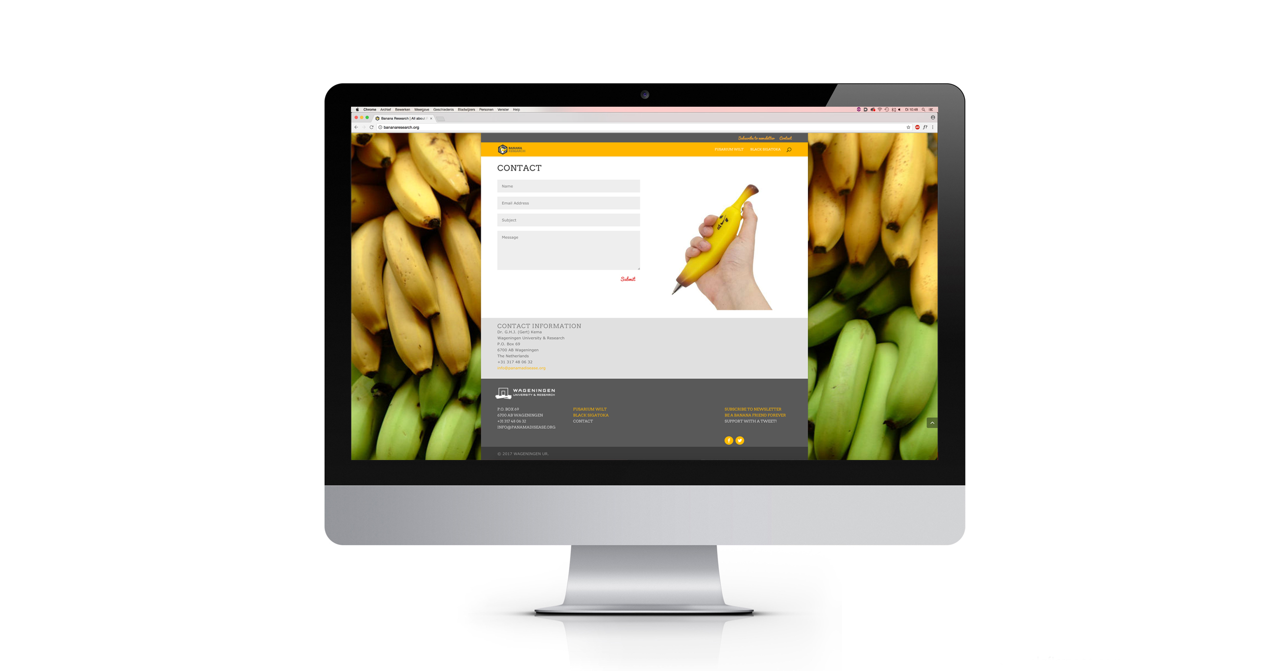 Website Banana Research