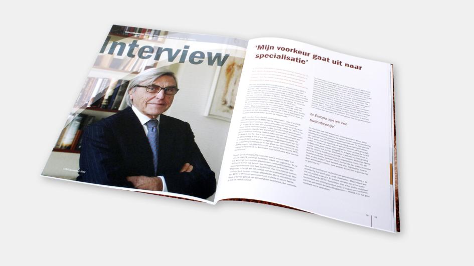 5 jaar: CCMO jaarverslag, interview