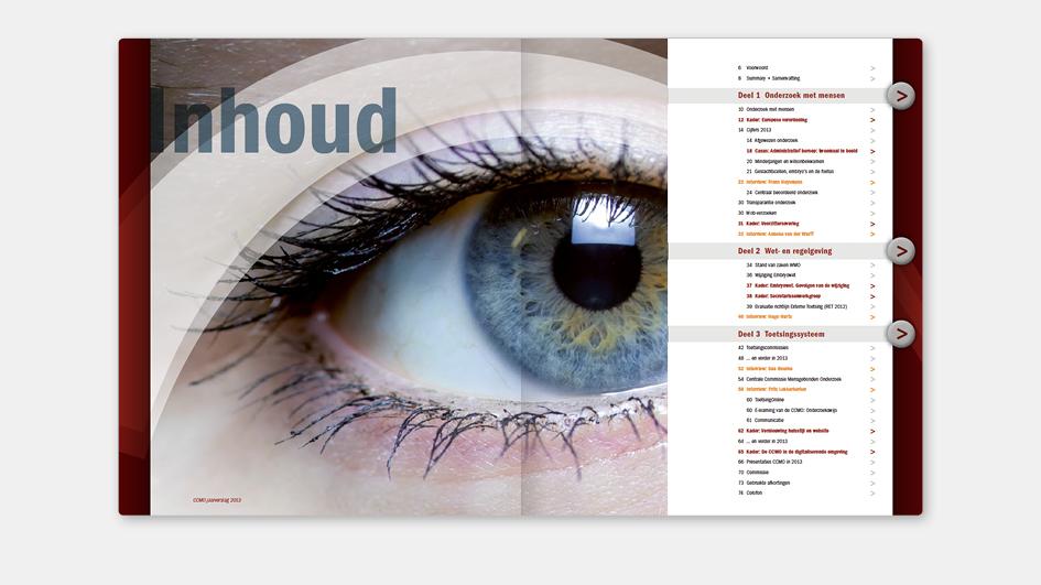 5 jaar: CCMO jaarverslag inhoudsopgave