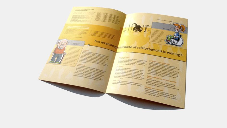 5 jaar: eerste pitch, Stadsregio folder