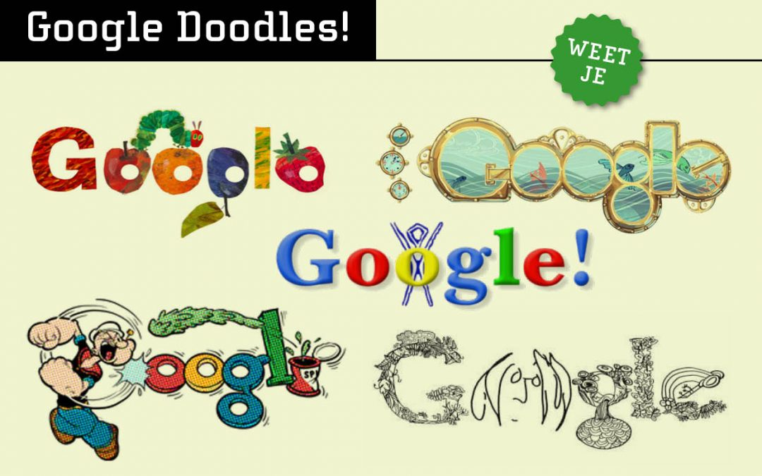 Typografie: Google Doodles!